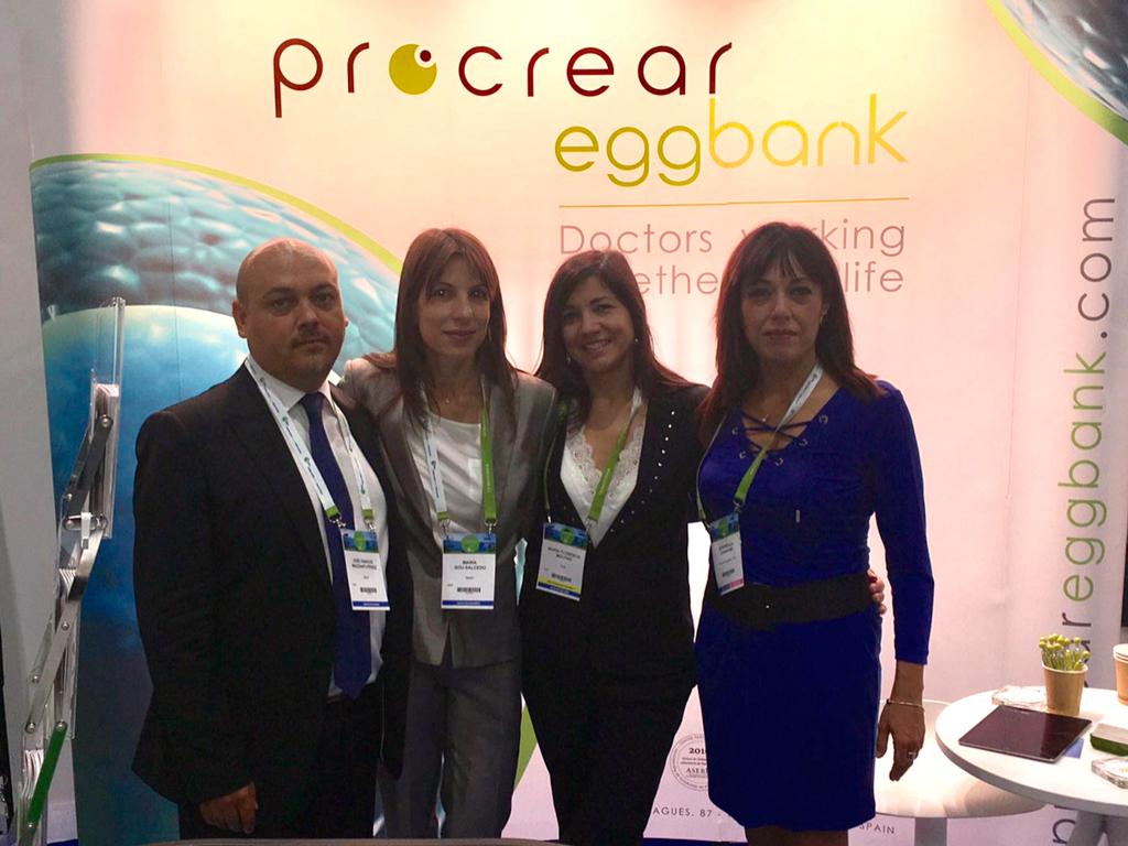 Procrear EggBank en el Congreso Anual 2017 de la ESHRE